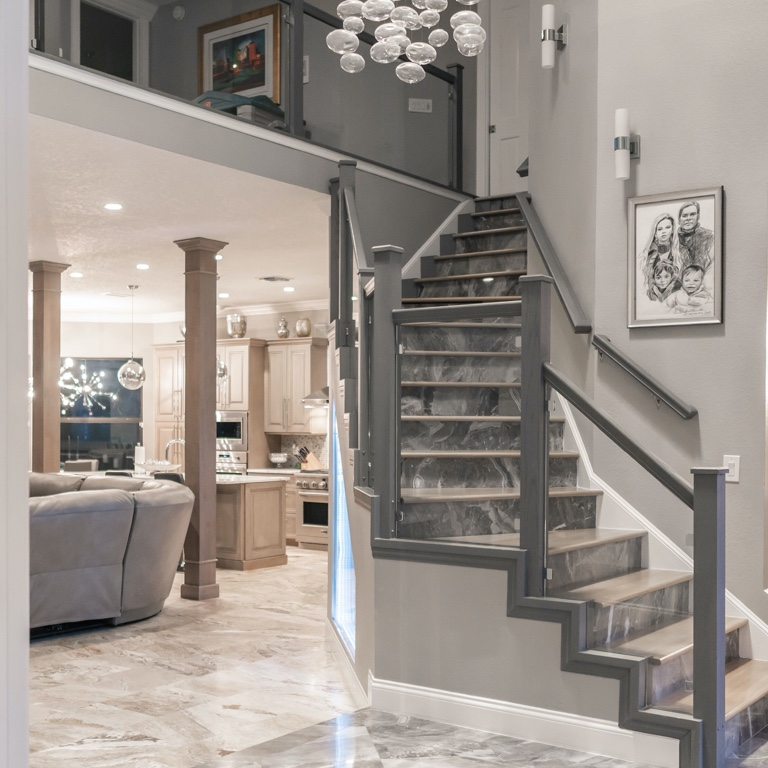 Luxury Home Staircase